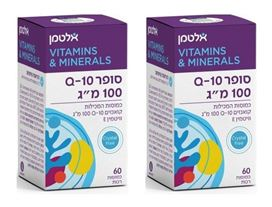 "אלטמן סופר קיו 10 - 100 מ""ג Altman Super Q-10 100 mg"