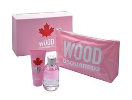 DSQUARED2 WOOD POUR FEMME 100ml E.D.T + 100 ml body lotion