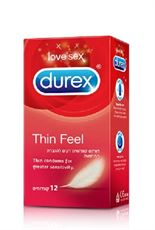 דורקס תין פייל 12 קונדומים Durex Thin Feel קלאב פארם